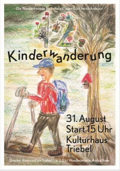 Kinderwanderung-Plakat